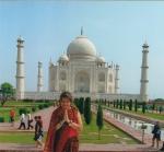 Agora na Índia vivenciando uma de suasmaravilhas