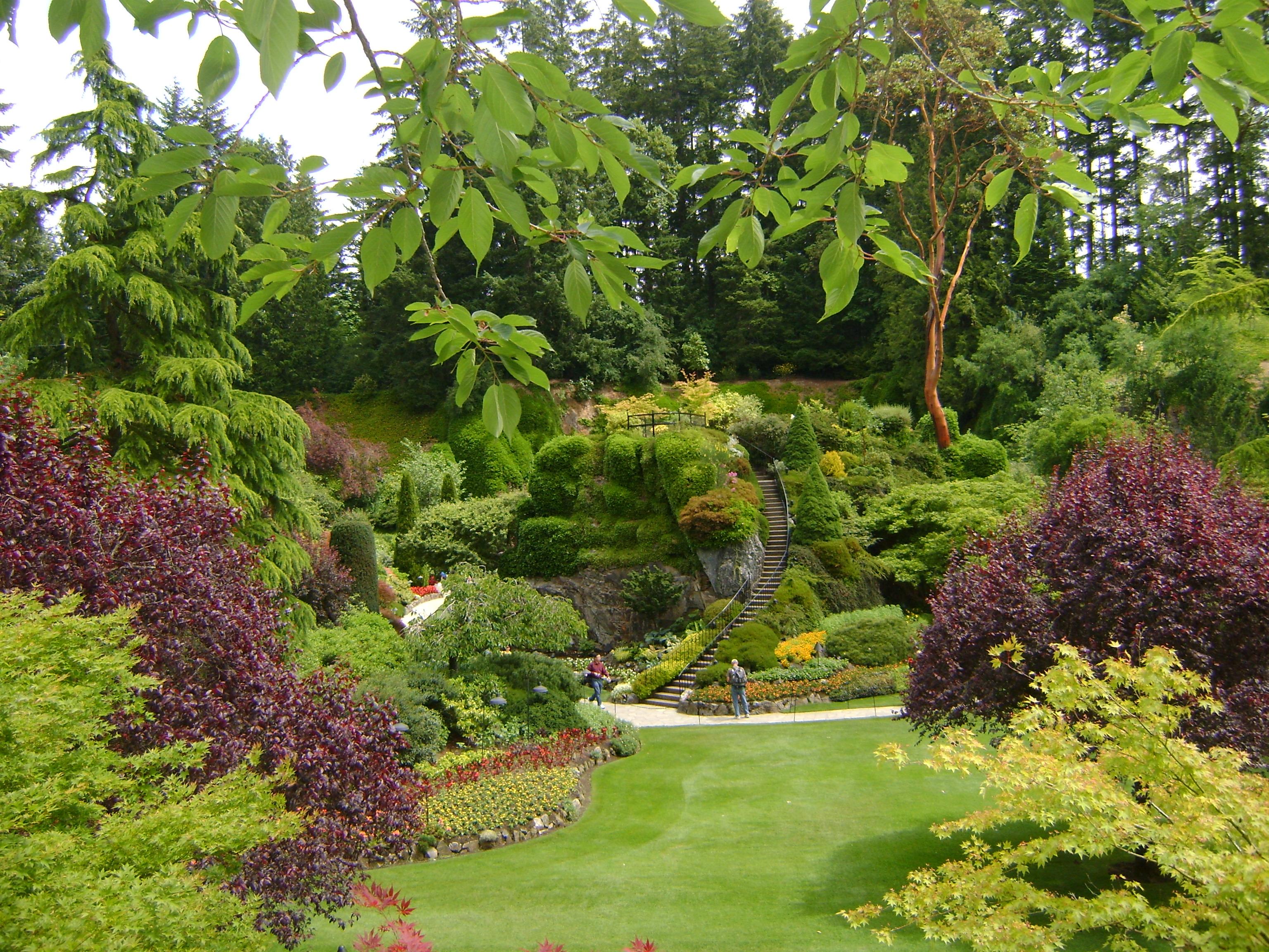 plantas jardim mediterraneoButchart Gardens – Canadá